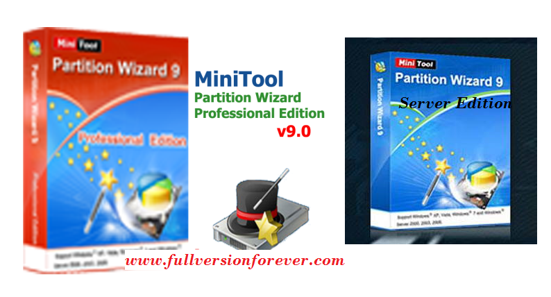 minitool partition wizard server edition 9.1 crack