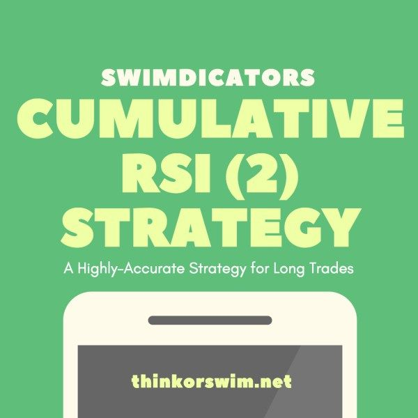 Cumulative Rsi 2 Trading Strategy Short Term Trading Strategies