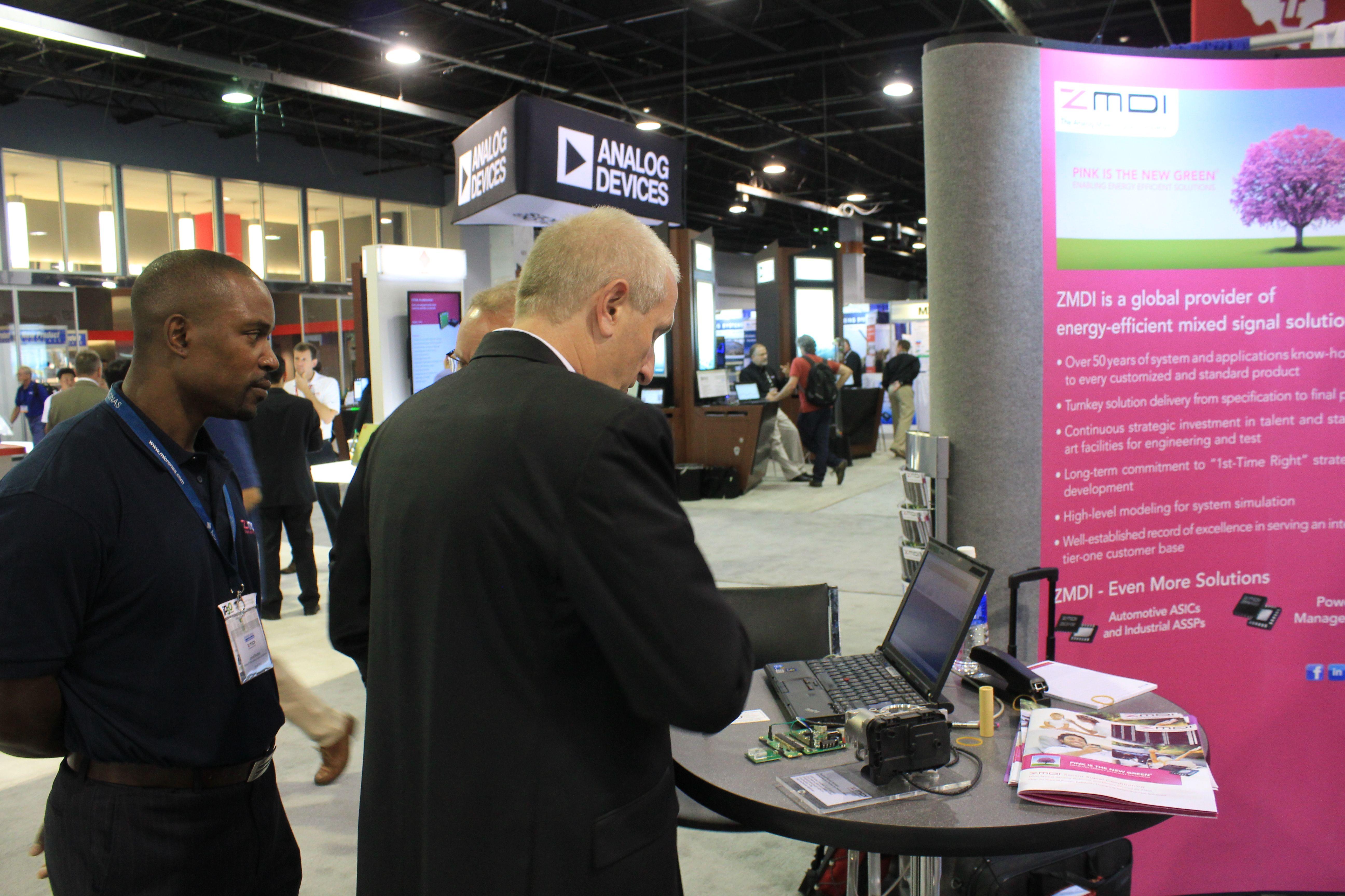 ZMDI Booth at Sensors Expo 2014