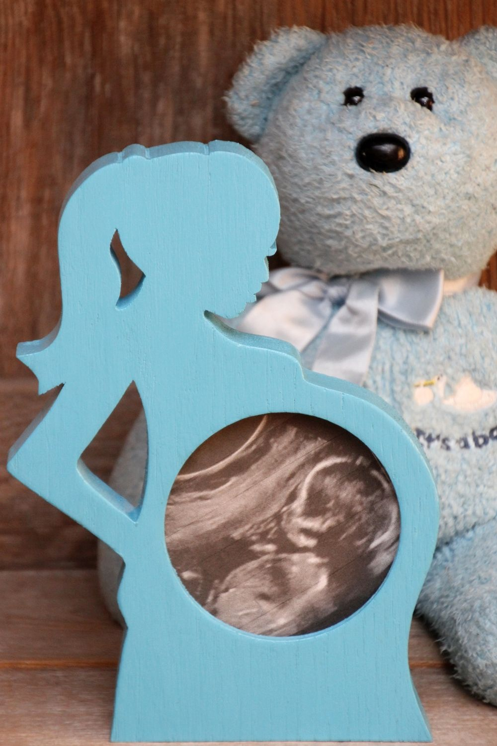 click on this link to purchase or click one of the links below to order first photo ultrasound sonogram wood picture frame silhouette baby bump expectant