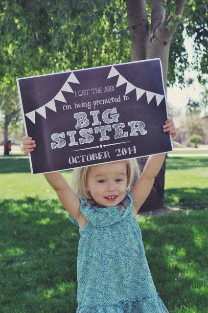 I got the job! Promoted to Big Brother\/Sister Chalkboard Printable - job promotion announcement