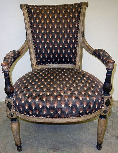 18th Century French Directoire Period Armchair Armchair Design Furniture Styles Antique Chairs