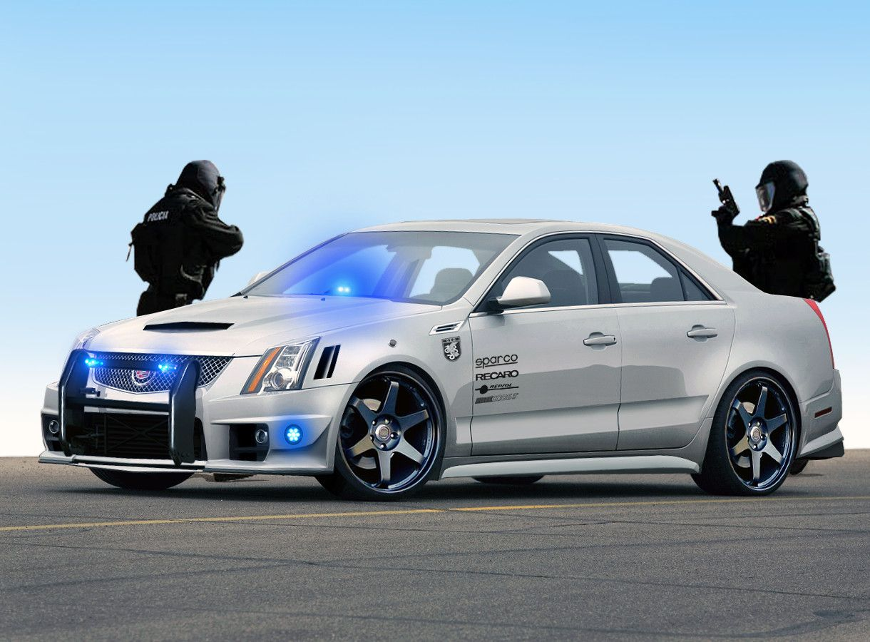 Let s say just that that cadillac cts v police car is going to be good for