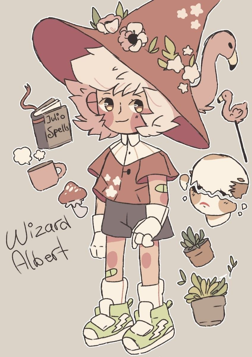 Decided To Draw Wizard Albert Again Hes So Little