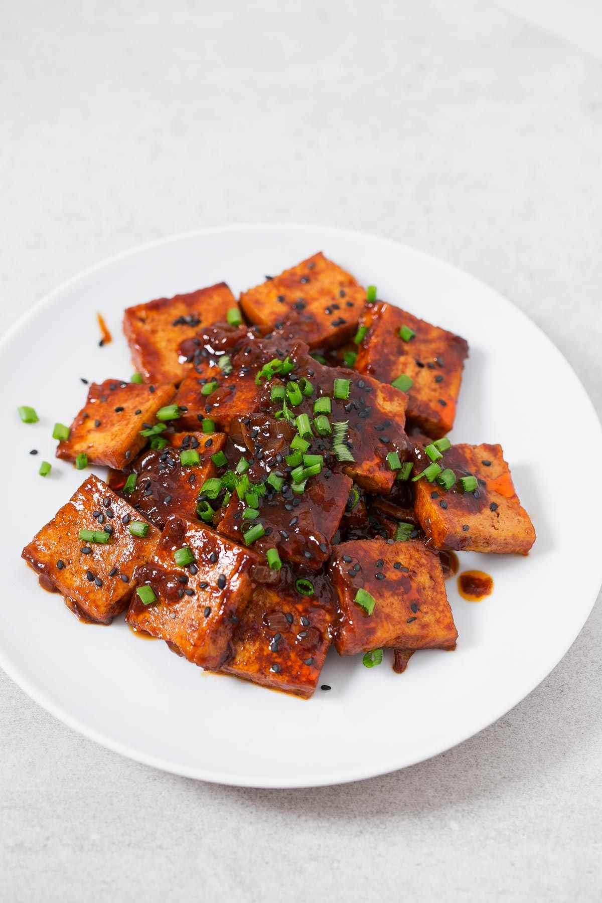 Korean style spicy tofu recipe korean cuisine tofu and veggies korean style spicy tofu vegan tofu recipesspicy recipeskorean food forumfinder Image collections