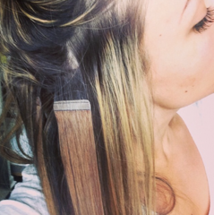 How to Care for Tape in Hair Extensions Hair extensions