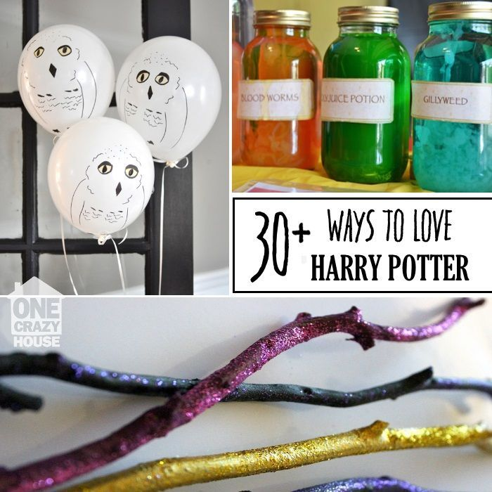 Delightful Harry Potter Craft Ideas For Kids Part - 9: Over 30 Potter-inspired Crafts And Activities Both Kids And Adults Will  Love! Some