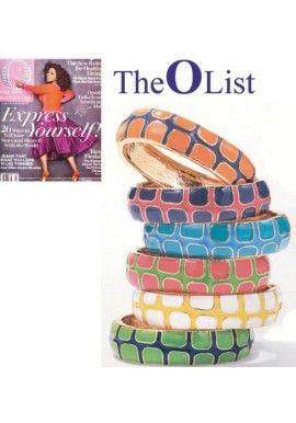 Oprah's List Gecko Bangles