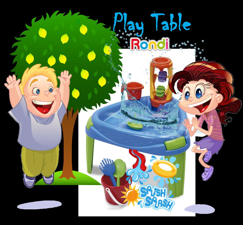 Play Table Baldosas Flotando En El Agua Juguetes