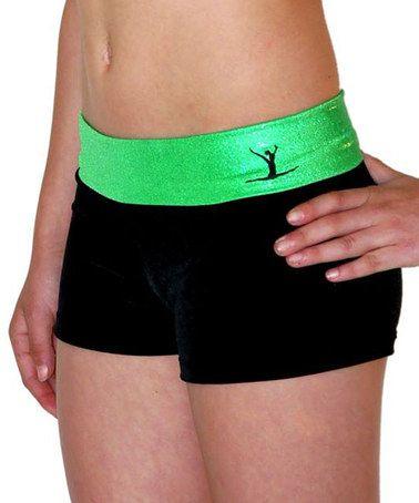 TumbleWear TW Black Gym Shorts