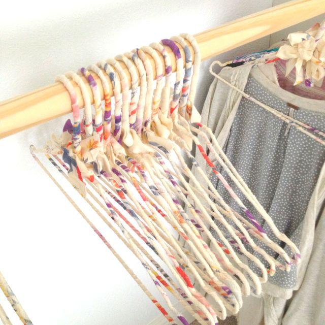 Brandy Melville Hangers Fabric Hanger Hanger Diy Diy Fabric