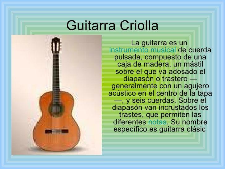 Resultado de imagen para información de instrumentos musicales ...