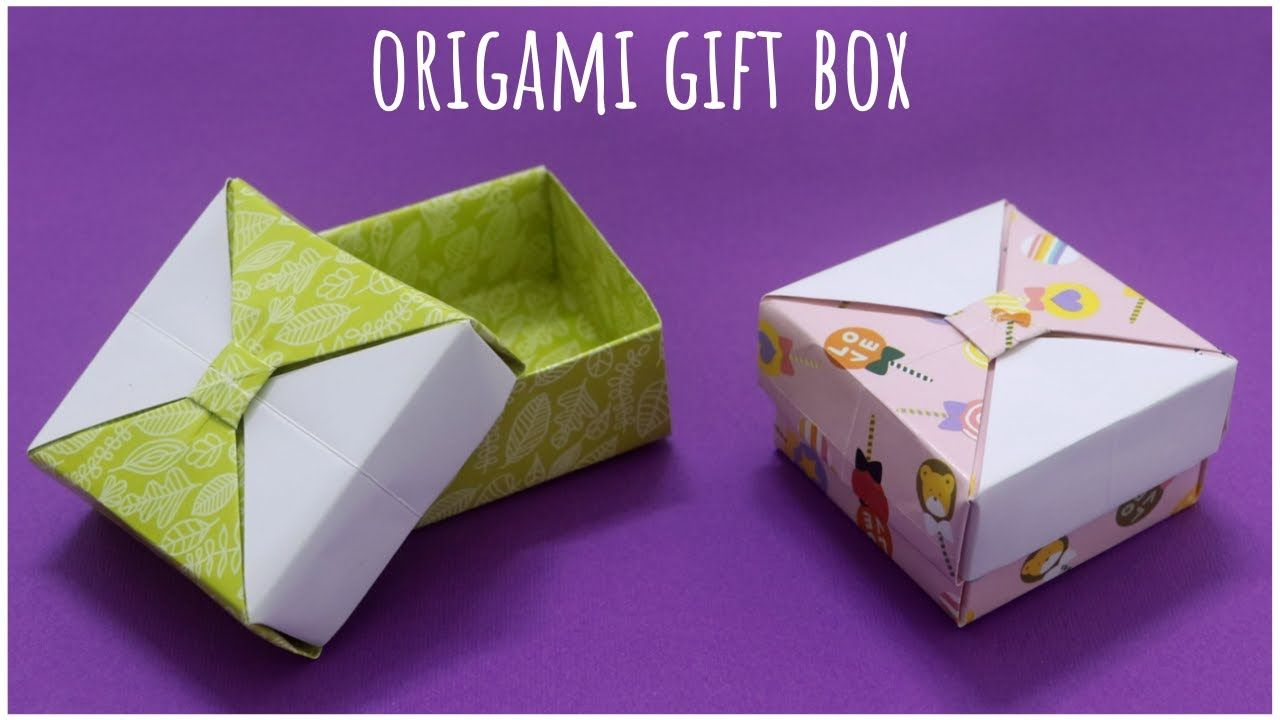 how to make a strong box from paper- Origami - YouTube | 720x1280