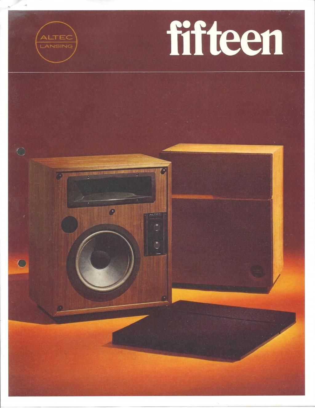 altec Lansing Model 15 | Audio Equipment in 2019 | Altec