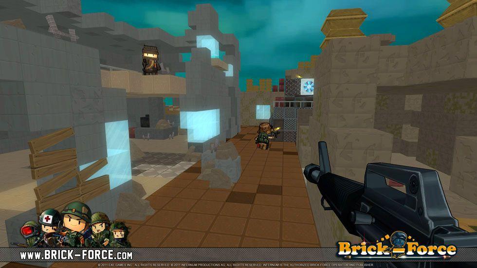 BrickForce from Infernum. A DIY Minecraftstyled, freeto