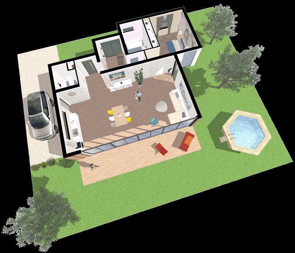 Draw 3D floor plans online Space Designer 3D in 2020