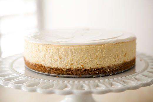 Perfect Cheesecake Recipe New York Style Simplyrecipes Com Recipe Perfect Cheesecake Recipe Cheesecake Recipes Sour Cream Recipes