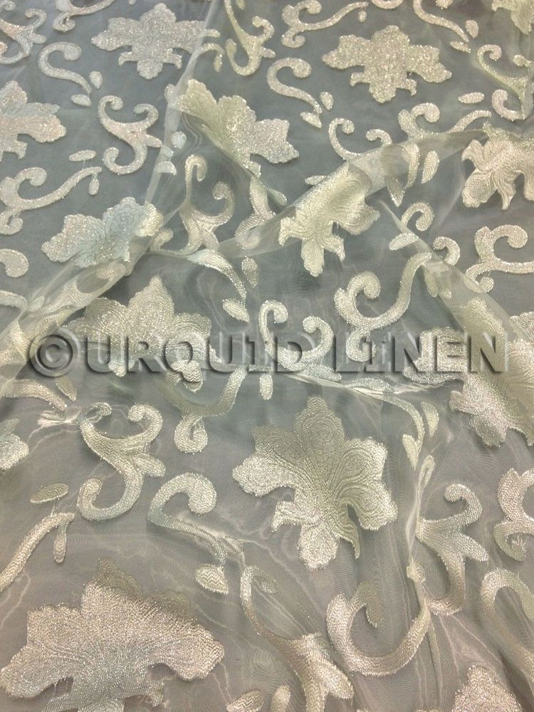 Genial Fleur De Lis Tablecloth   Ivory