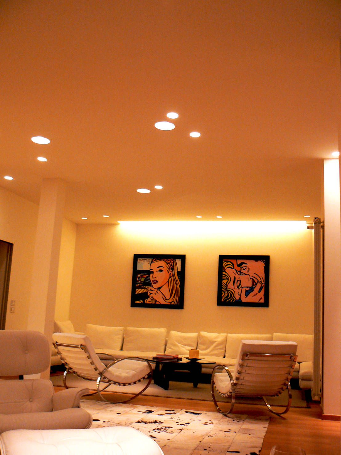 Usare la luce per arredare: i faretti LED a incasso | living ...