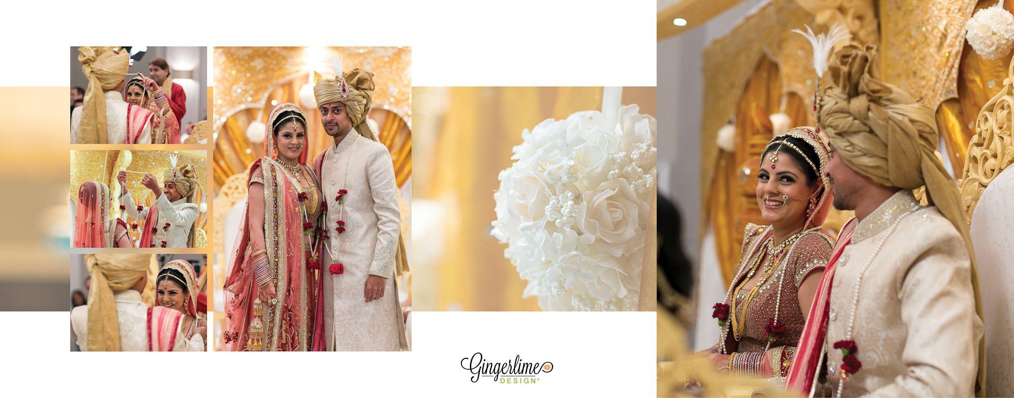 Hindu Wedding Indian Bride Bride And Groom Asian Wedding Inspo Indian Wedding Album Design Wedding Album Design Layout Wedding Album Cover Design