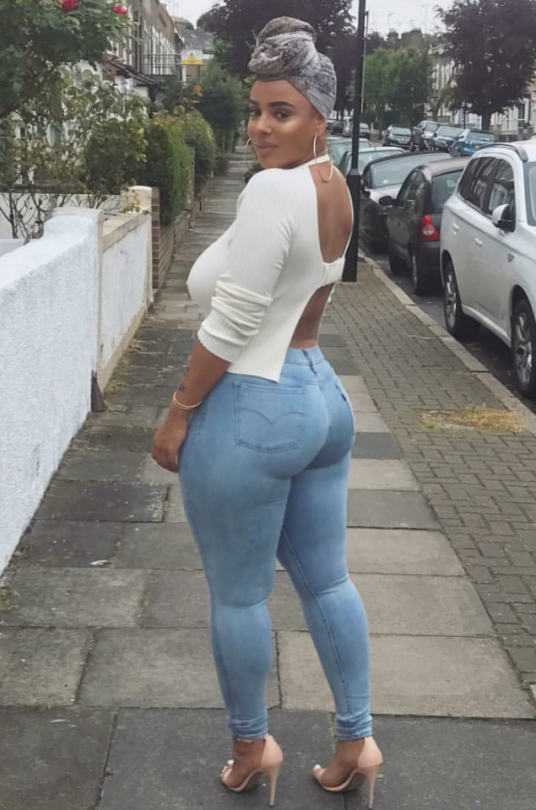 Was chubby hot ass in tit blue jeans exact answer