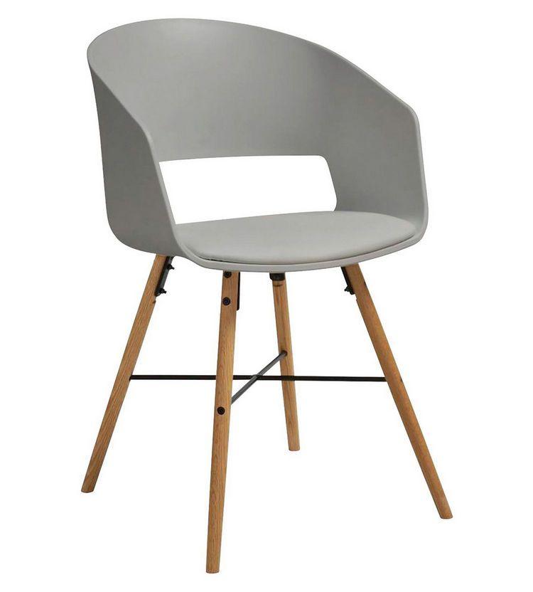 Stuhl Lederlook Grau In 2019 Esstisch Stuhle Innen