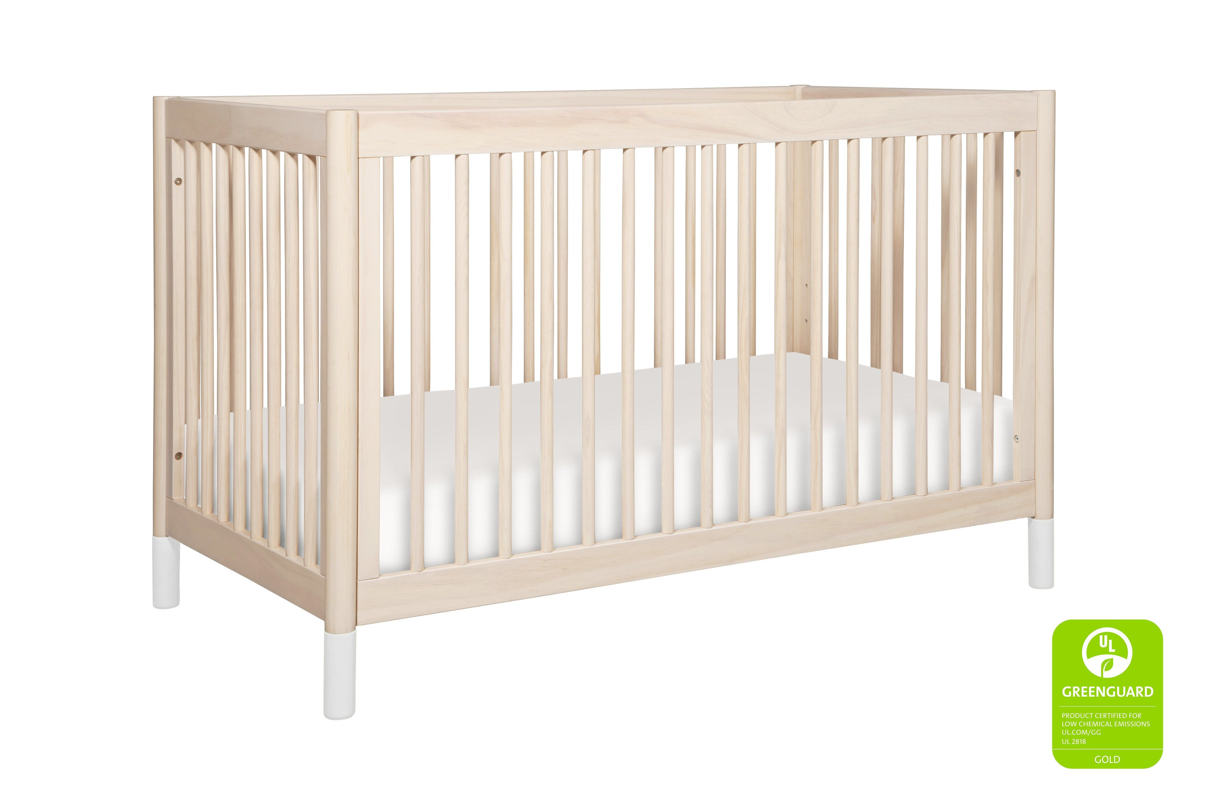 Gelato 4in1 Convertible Crib with Toddler Bed Conversion