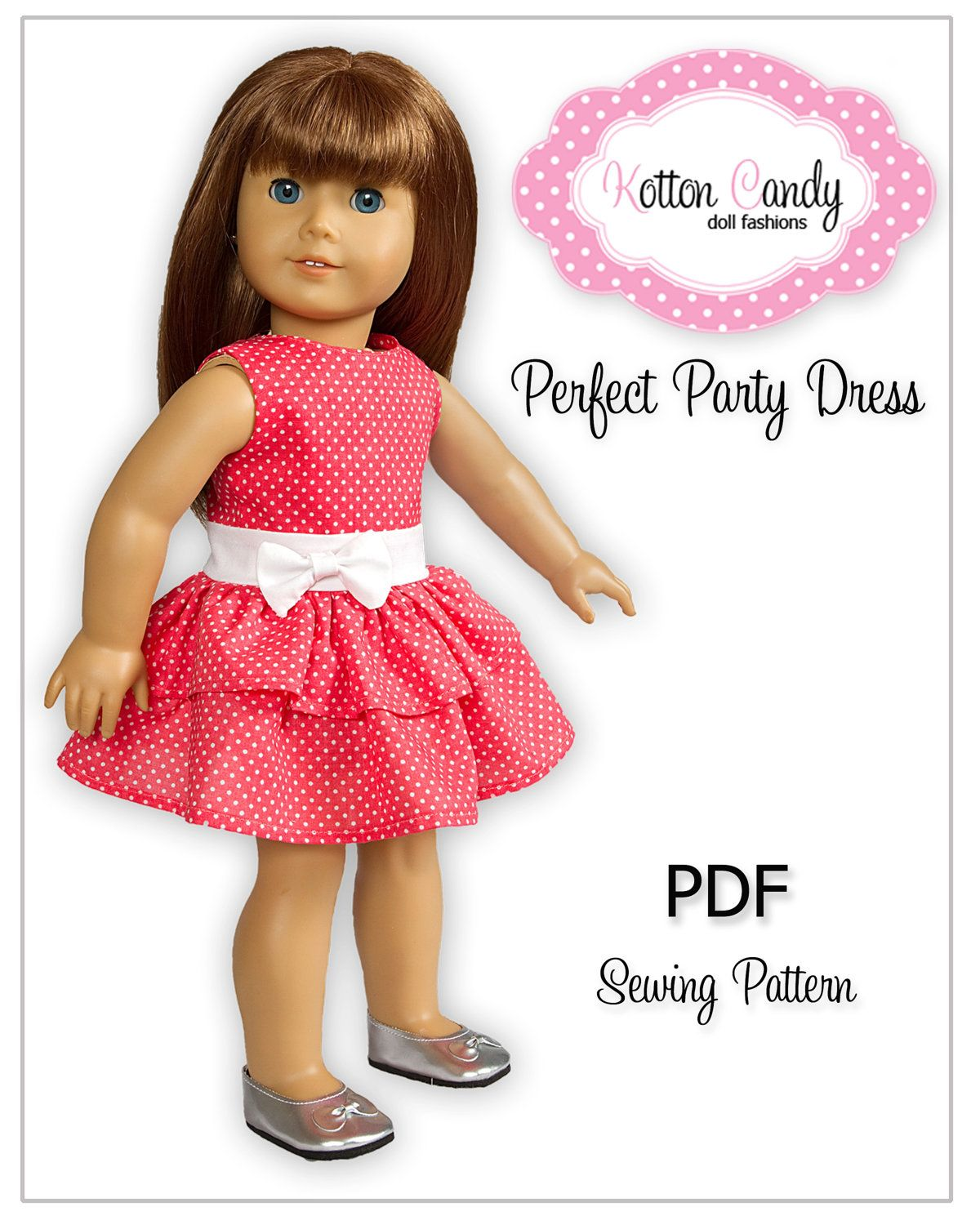 Girl American doll dress patterns pictures