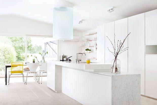 Smarte lsninger - Materialmagi på moderne kjøkken - Bo-Bedre.no