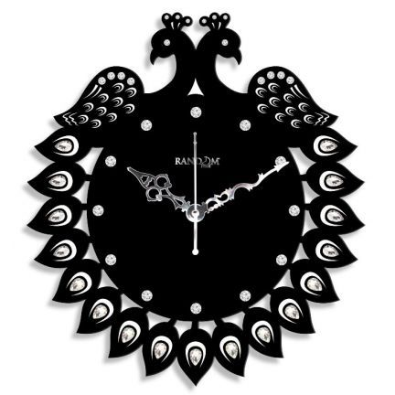 Random Jewel Peacock Wall Clock Add Oodles Of Style To Your Home With An Exciting Range Of Designer Furniture Furnishings Decor Items And K Clock Wall Clock