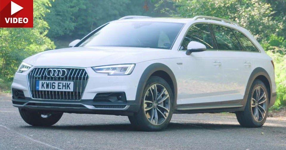 Can The Audi A4 Allroad Scratch Your SUV Itch? #Audi #Audi_A4