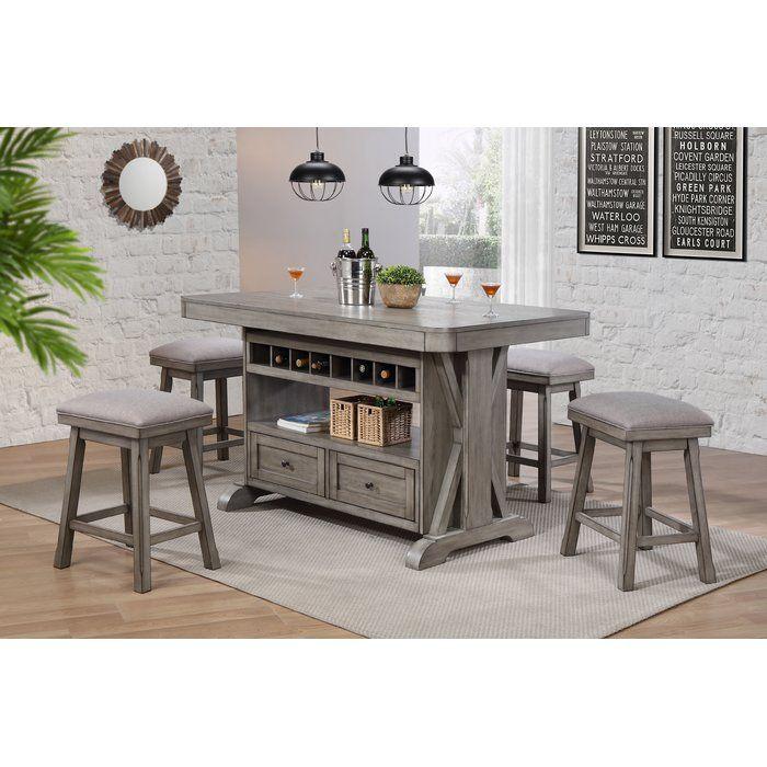 Vergara Kitchen Island Kitchen Island Table Kitchen Design Kitchen Table With Storage