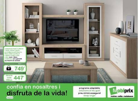 Mueble de comedor mod. Calafell con sistema modular | Comedores a tu ...