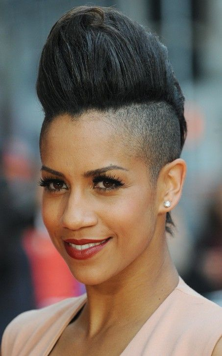 16 Pompadour Quiff Hairstyles For Women Pretty Designs Pompadour Hairstyle Punk Hair Hair Styles