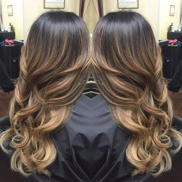 Top 20 Best Balayage Hairstyles For Natural Brown Black Hair Color Balayage Hair Hair Styles Hair Highlights