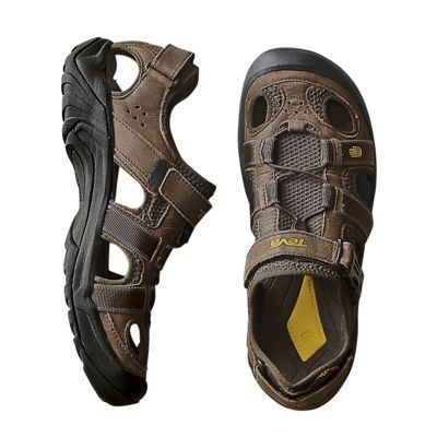 0f523edb2c5a Men s Teva Omnium Leather Sandals - would be great for river crossing while  hiking