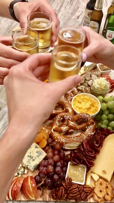 Oktoberfest Snack Board | The BakerMama
