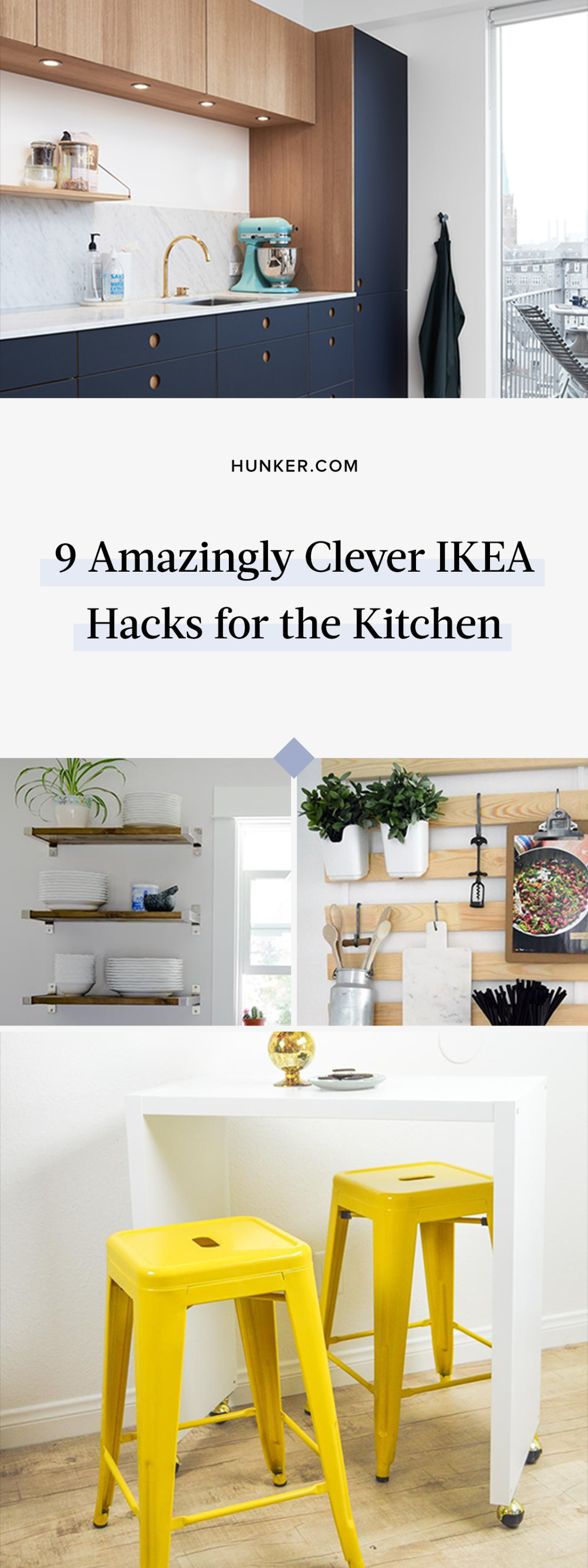 9 amazingly clever ikea hacks for the kitchen ikea hack kitchen new cabinet ikea hack on kitchen island ideas diy ikea hacks id=77642