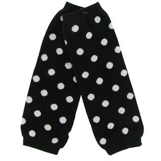 d9dec6227aa8 Adorable polka dot leg warmers will keep your baby fashionably warm ...