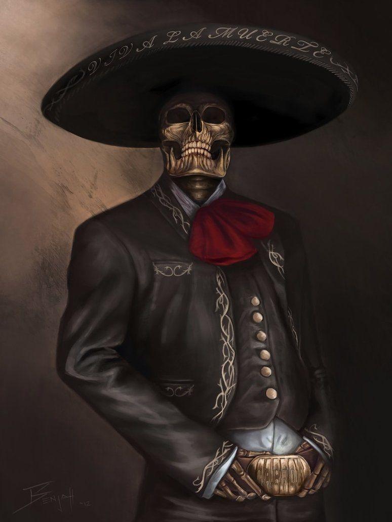 The Charro By Royalfiend Arte Con Calaveras Mexicanas Imagenes De Calavera Arte Mexicano