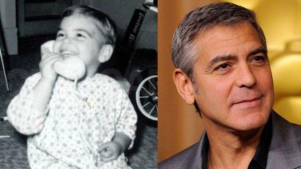 El Eterno Seductor Celebrities Then And Now Celebrity Babies George Clooney