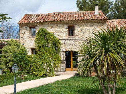 La villa de la location de vacances Mas à Le Castellet