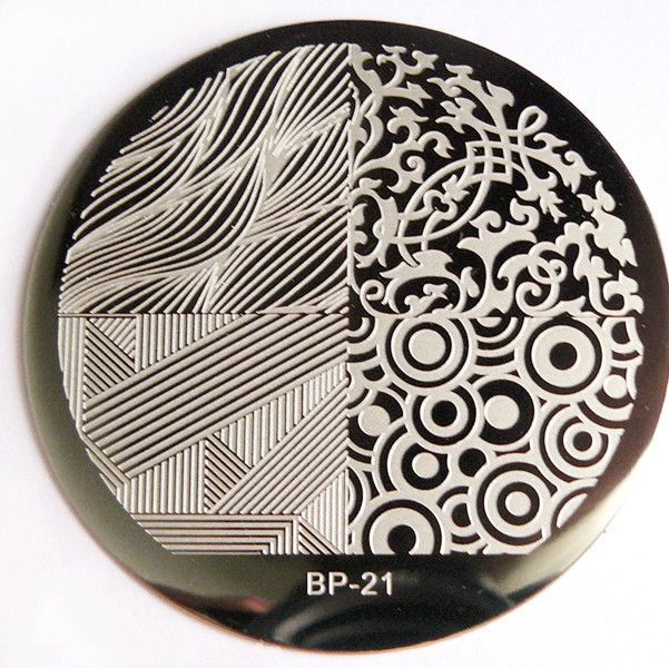 $299 4 Mixed Patterns Nail Art Stamp Template Image Plate BORN - stamp template