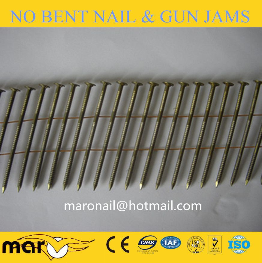 2 2 2 5 X 50 57mm Screw Ring Shank Pallet Coil Nails Roofing Nails Framing Nails Fence Nails