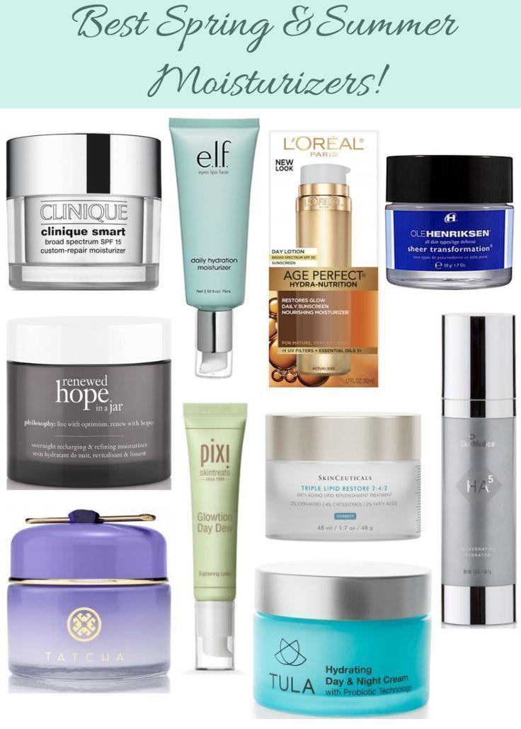 Best facial moisturizers for spring summer best