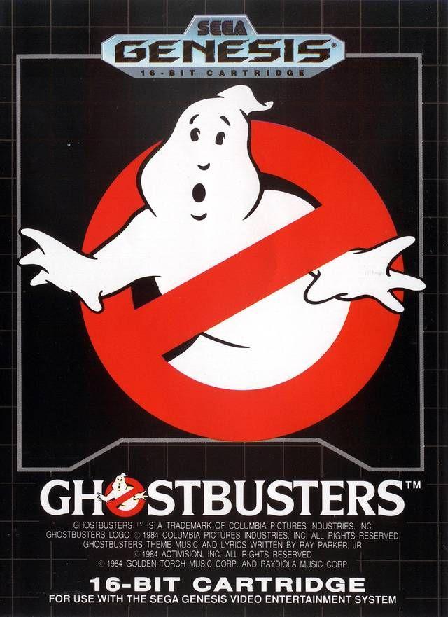 """Résultat de recherche d'images pour """"Ghostbusters genesis md"""""""
