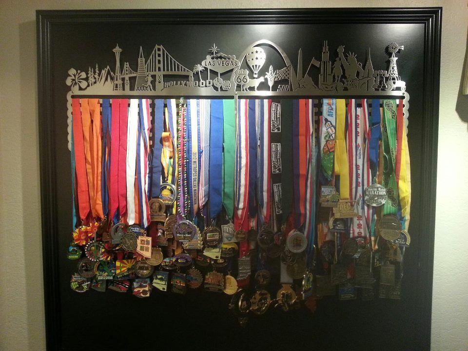 The 25 Best Medal Displays Ideas On Pinterest Race