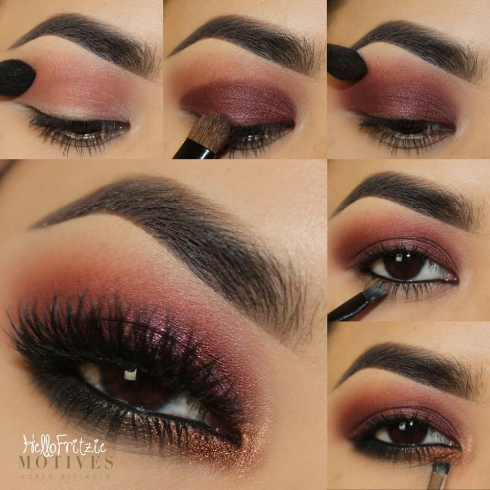 Juicy Plum Boudoir Eye Shadow Look (With images) Smokey