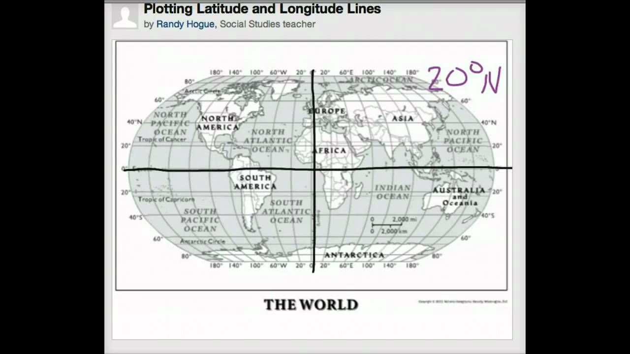 How to plot latitude and longitude | route | Latitude, longitude