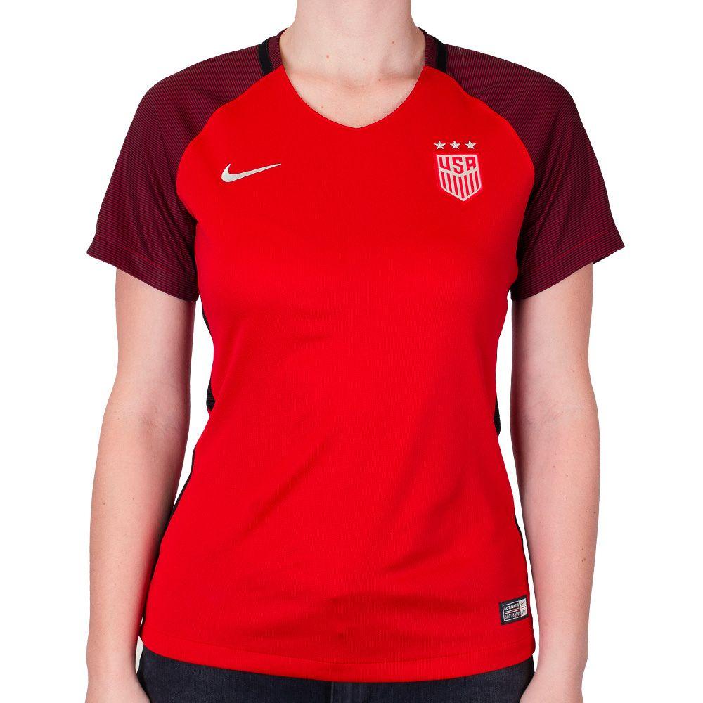 sale retailer 87fbf ce32f Women's Nike USA 2017/2018 Stadium Red Jersey | Cool things ...